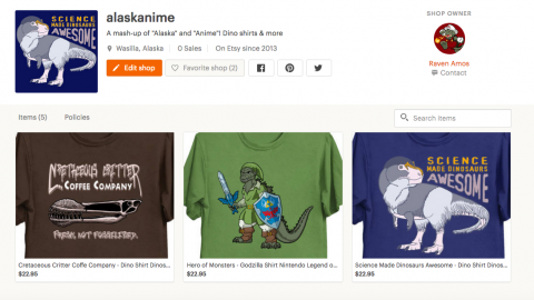 New listings on Raven's Etsy shop!