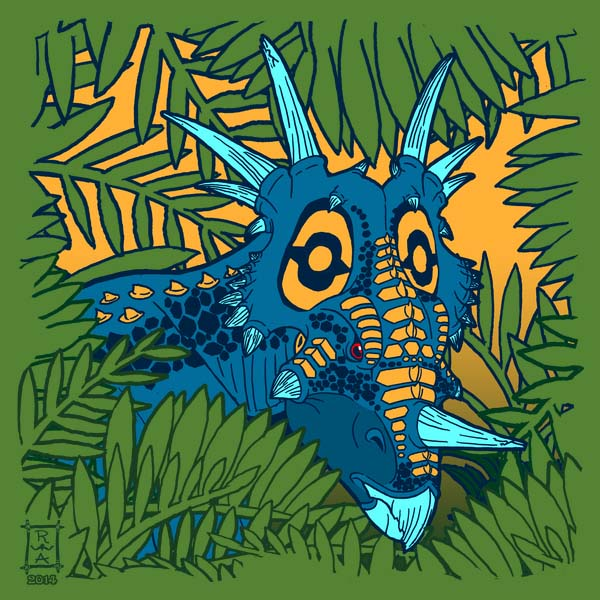 Styracosaurus Jungle