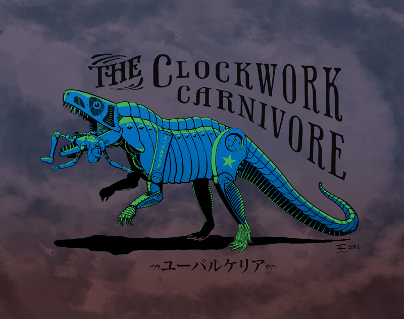 The Clockwork Carnivore in Blue2